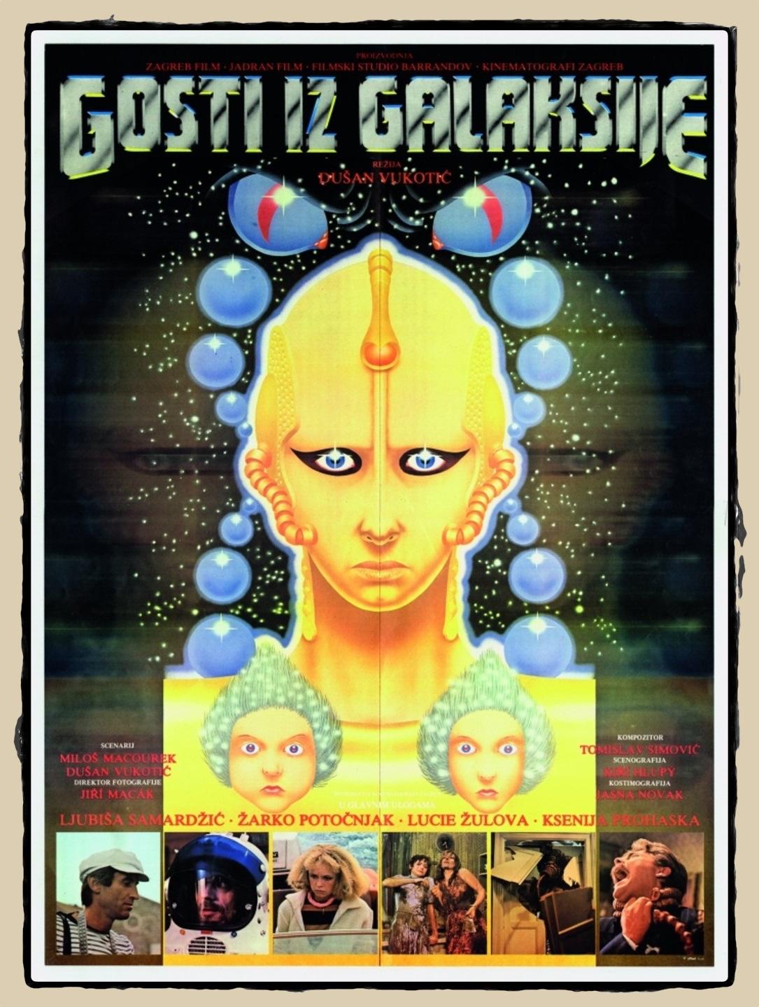 Gosti iz galaksije(1981)poster